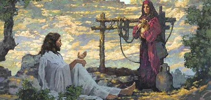 Картинки по запросу картинки иисус и самарянка
